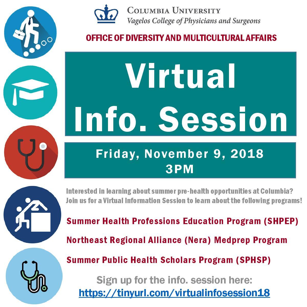 Health Professions Advising at Barnard College : 2018-10-07