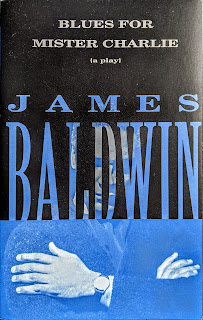 Book cover for Blues for Mister Charlie by James Baldwin