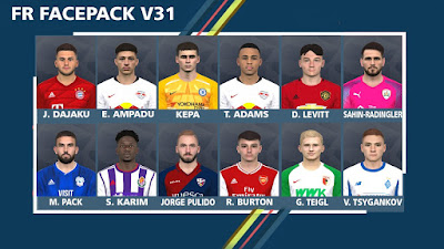 PES 2017 Facepack v31 by FR Facemaker