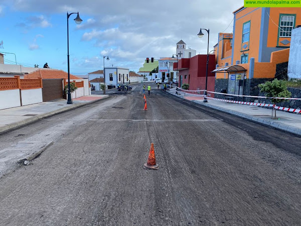 El Cabildo notificó a Transportes Insular La Palma el corte en la carretera del Zumacal desde el 1 de marzo