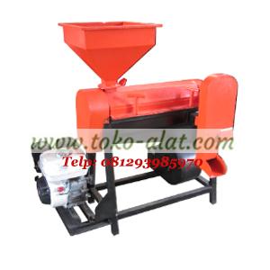 Mesin pengupas kulit tanduk kopi kering - mesin huller kopi besi