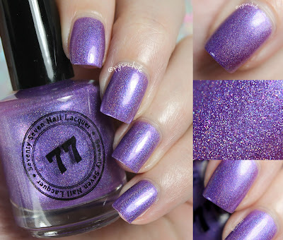 Seventy Seven Nail Lacquer That's Not Purple!