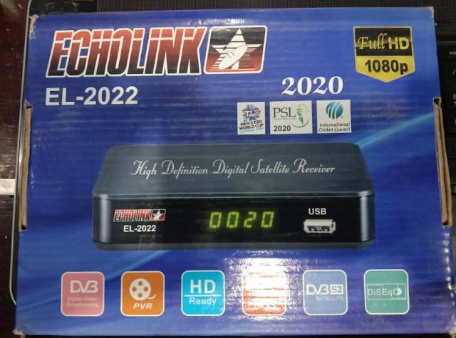 ECHOLINK EL-2022 1506LV NEW SOFTWARE WITH ECAST & DOLBY SOUND OK