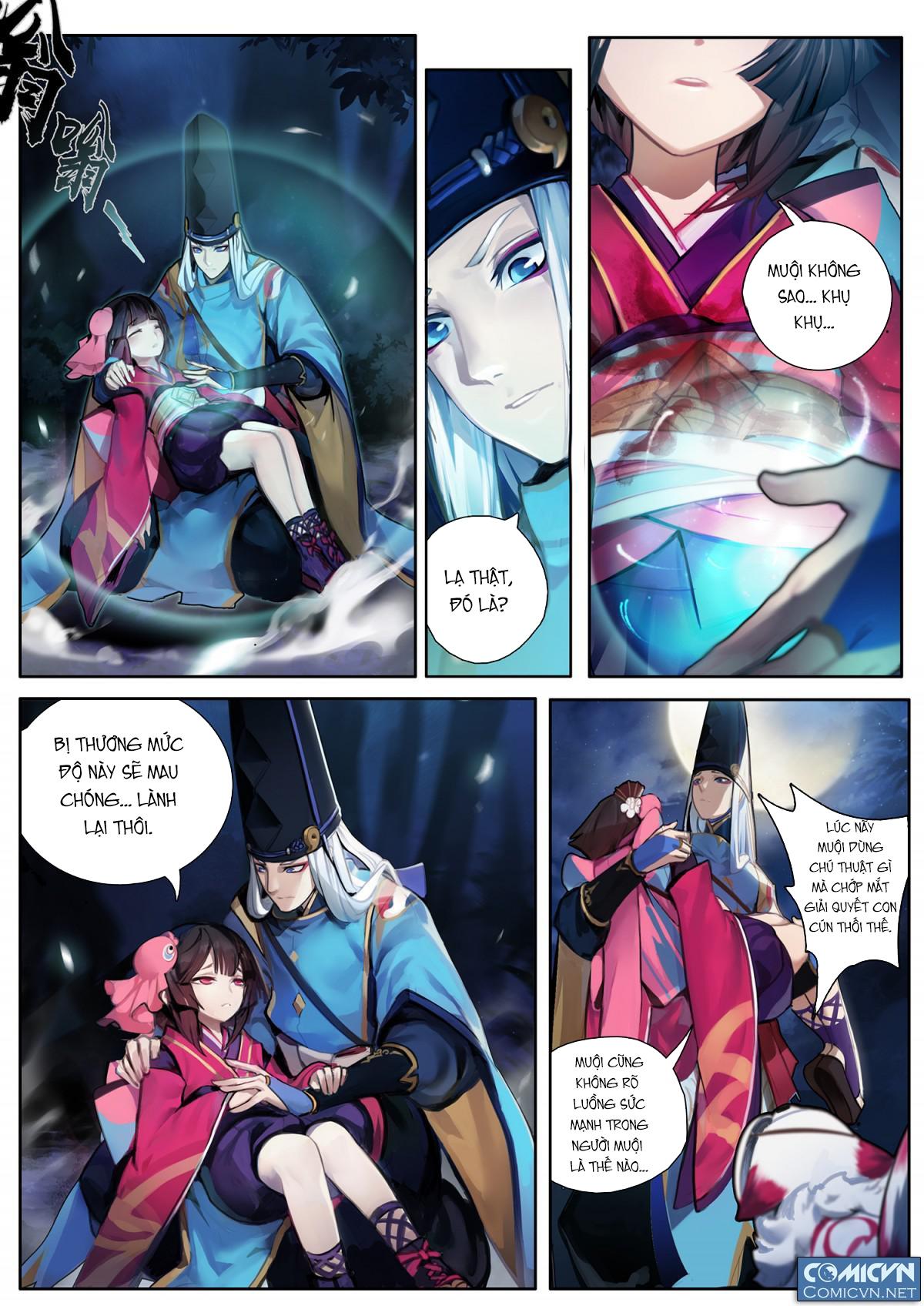 Onmyoji - Âm Dương Sư manga chap 3 - Trang 2