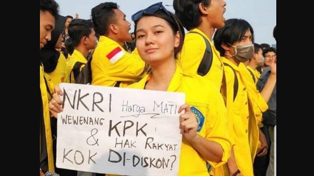 Peneliti Senior INDEF: Demo Mahasiswa Murni Perjuangkan Kepentingan Rakyat