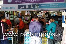 Lowongan Kerja Padang: Toko Cahaya Listrik Juni 2018