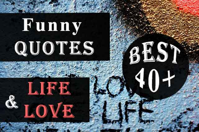 Funny Quotes about Life and Love Funny Quotes About Life and Love and Happiness