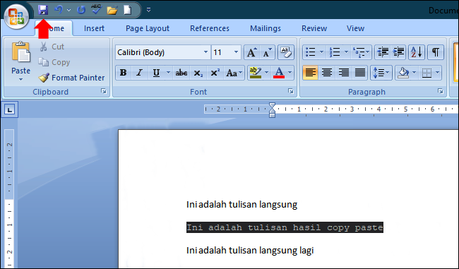 Cara Mengecilkan Ukuran File Word