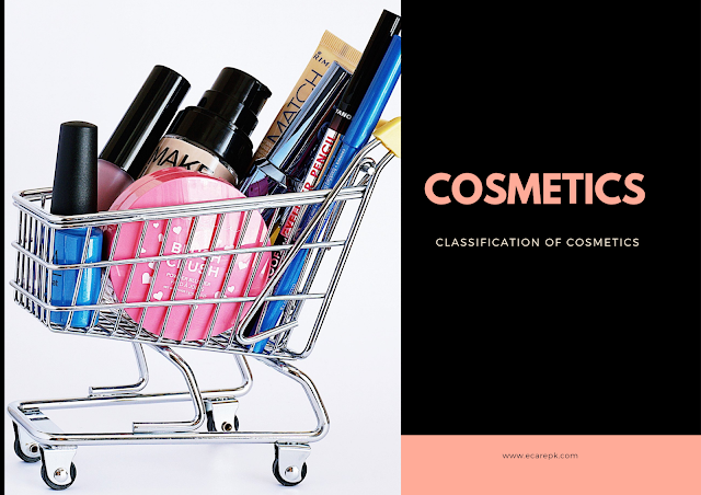 Cosmetics and Classification of Cosmetics - Cosmeceutical Products