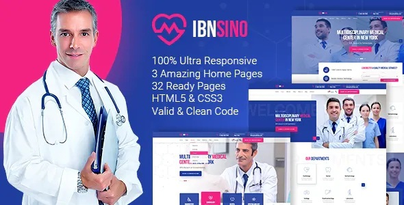 Medical Center HTML Template