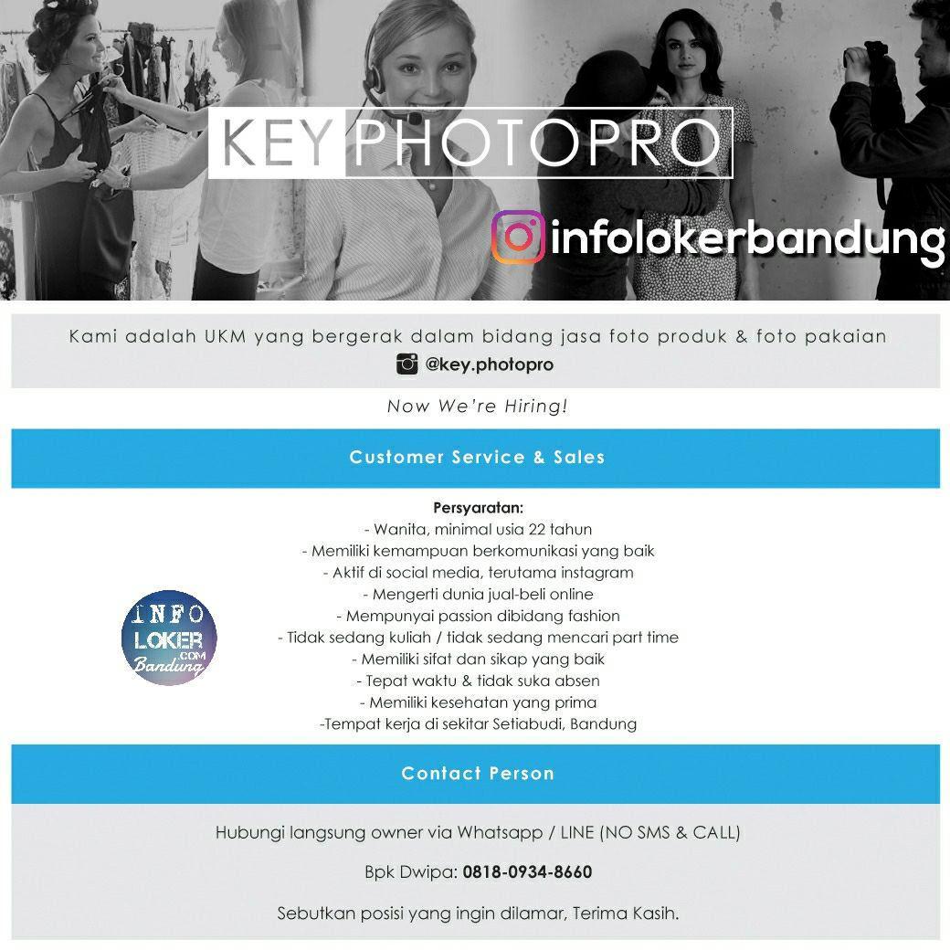 Lowongan Kerja Key Photopro Bandung Januari 2018