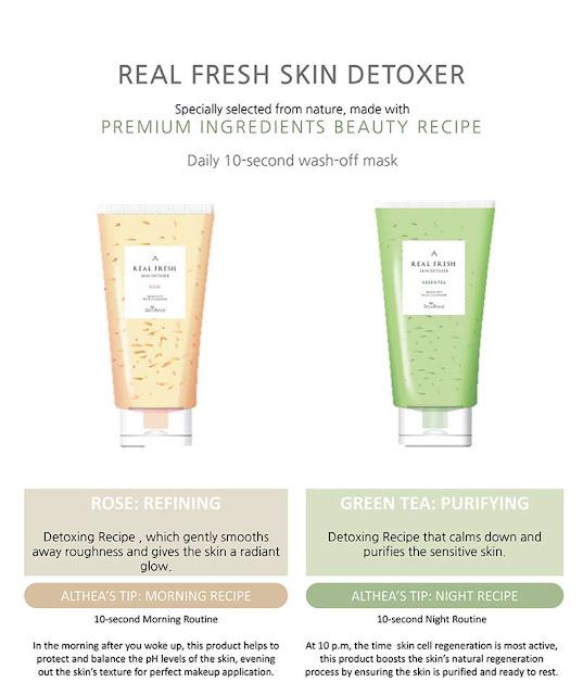 Jeonghwa Loves Althea Real Fresh Skin Detoxer