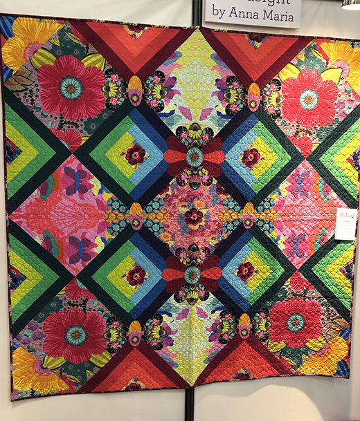 Cadence Quilt Designed by Anna Maria for Free Spirit Fabrics, Featuring Featuring Hindsight