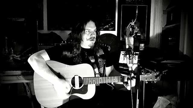 Ο τραγουδιστής - κιθαρίστας των Legendry, Vidarr