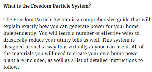 freedom particle system pdf, freedom particle system review, freedom particle system scam, freedom particle system reviews,
