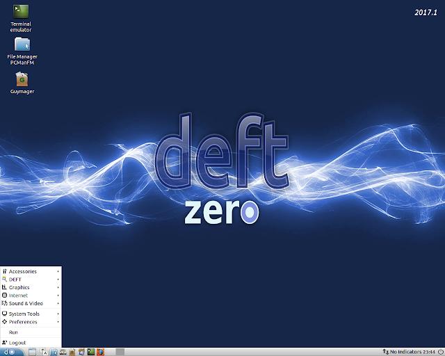 Lançado GNU/Linux DEFT Zero 2017.1