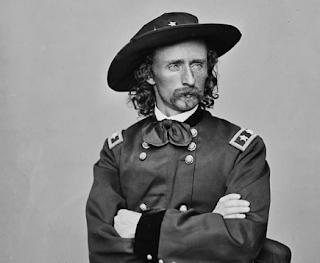 Brevet Major-General George Armstrong Custer (image)