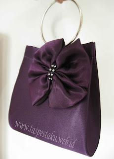 Ungu Purple Tas Pesta