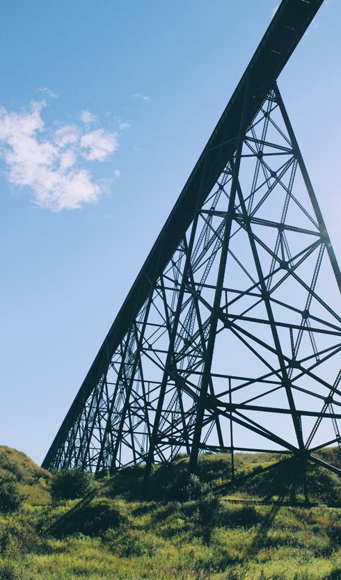Lethbridge Train Bridge