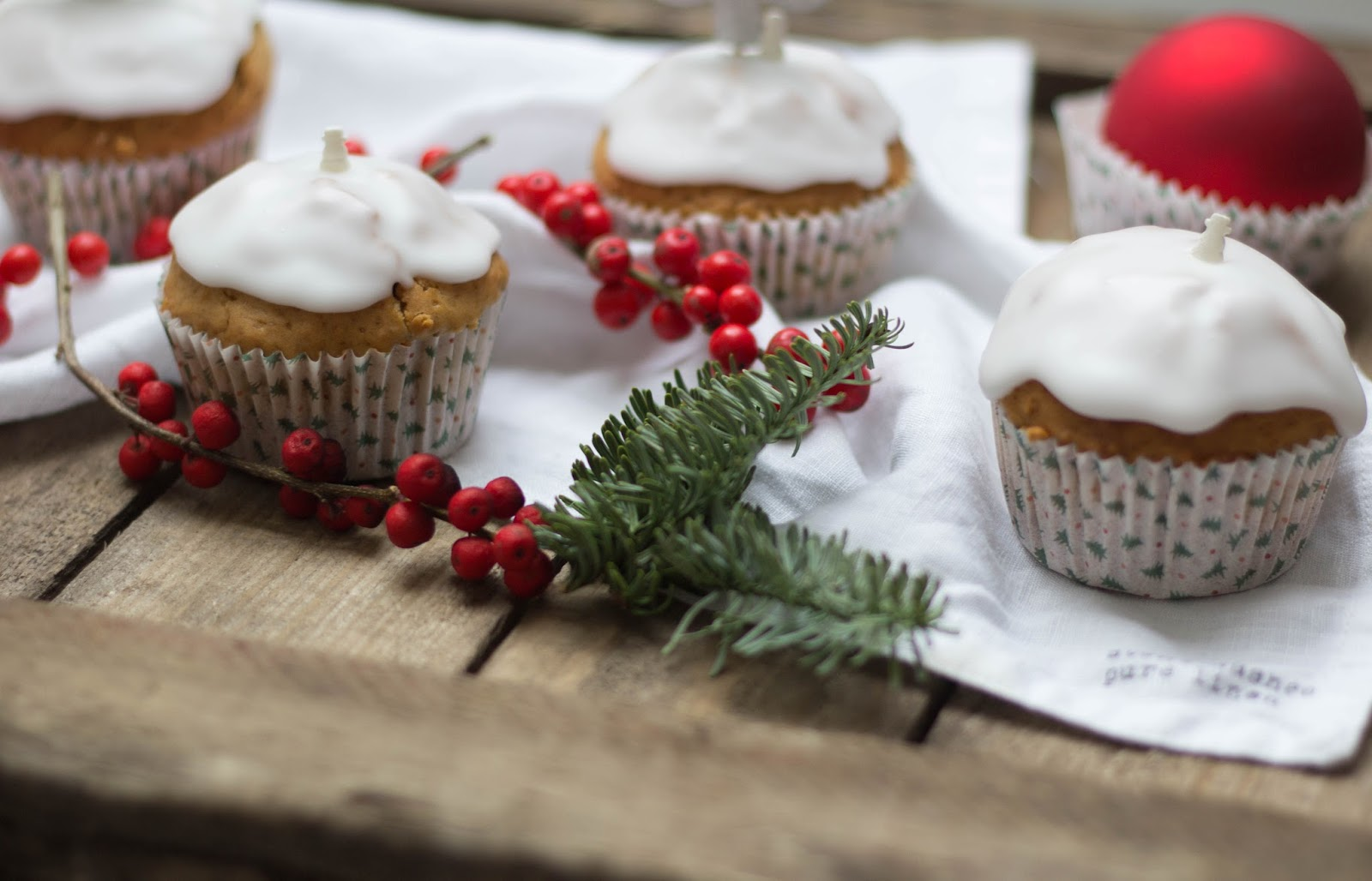 Gingerbread-Muffins zum 4.Advent