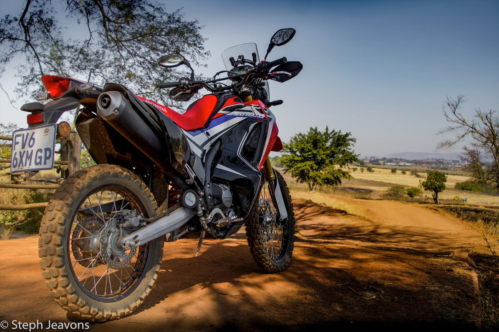 One Steph Beyond Test Riding The Honda Crf250l Rally