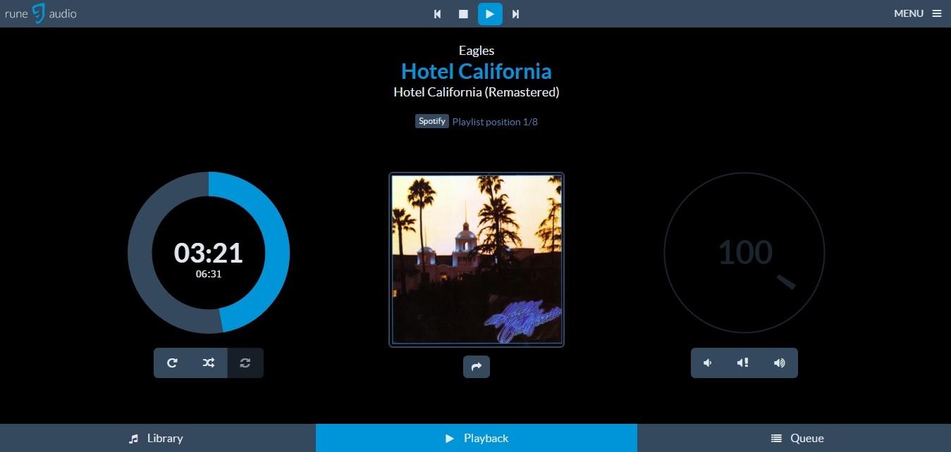 Keyables: Configure Spotify in Raspberry Pi RuneAudio