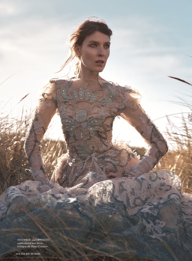Harper's Bazaar Winter Fashion Twelfth Night Editorial