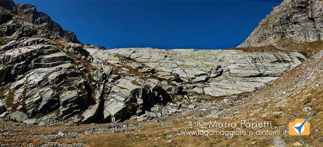 Bastionata di roccia al Paione