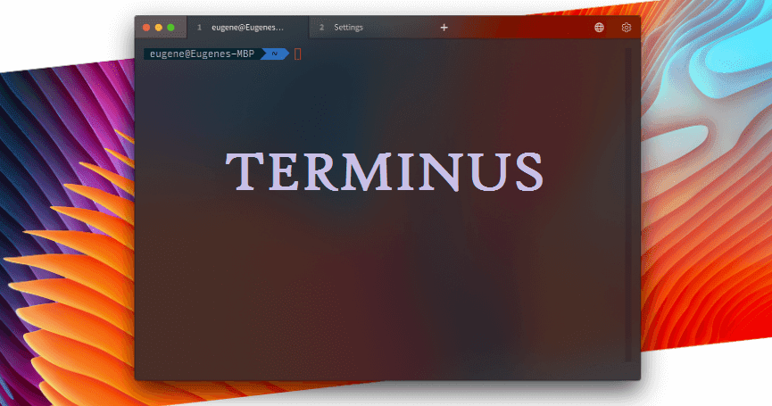 Terminus- Terminal Emulator For Windows, MacOS And Linux - Hackers
