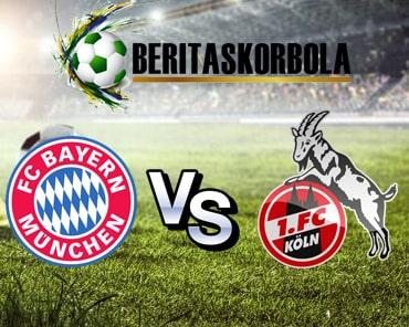 Prediksi Pertandingan Bundesliga Jerman, FC Koln Versus Bayern Munchen 16 Februari 2020