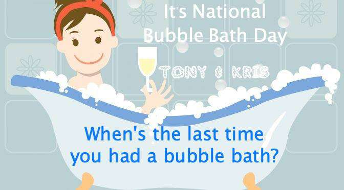 National Bubble Bath Day Wishes for Whatsapp