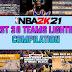NBA 2K21 BEST OF 30 TEAMS LIGHTINGS MODS COMPILATION