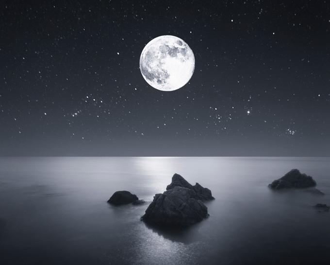 اجمل خلفيات و صور للقمر Moon 2019