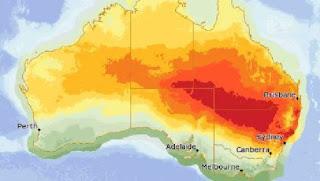 Sydney vit son jour le plus chaud depuis 1939