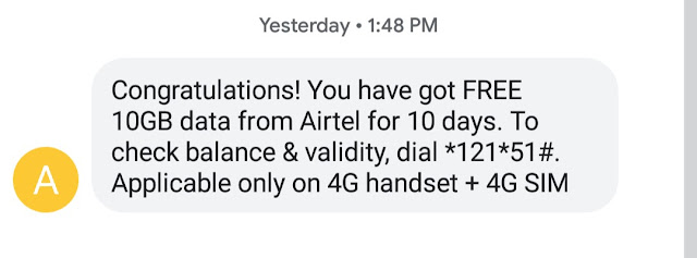 How to Get 10GB Airtel free data [AUGUST 2019] Just by calling to a Number