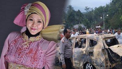 Kejam...Istri Tega Bunuh Suami dan Anak Tiri, Jenazah Dibakar dalam Mobil