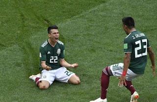 كاس العالم 2018 بالفيديو المانيا حاملة اللقب تنهزم امام المكسيك