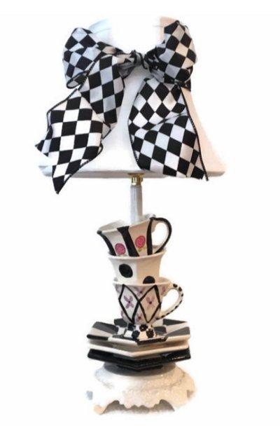TEA CUP TABLE LAMP TEA POT TABLE LAMP ALICE IN WONDERLAND DECOR