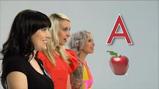 Tilly and the Wall sing the alphabet. Sesame Street Preschool is Cool ABCs With Elmo