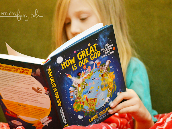 How Great Is Our God {A Kids Devotional Review} #HowGreatIsOurGod #LouieGiglio