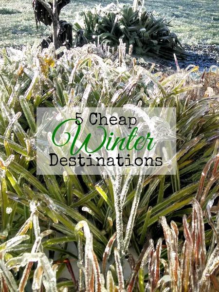 budget winter travel