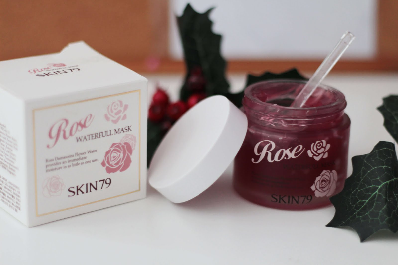 skin79 rose waterfull mask review