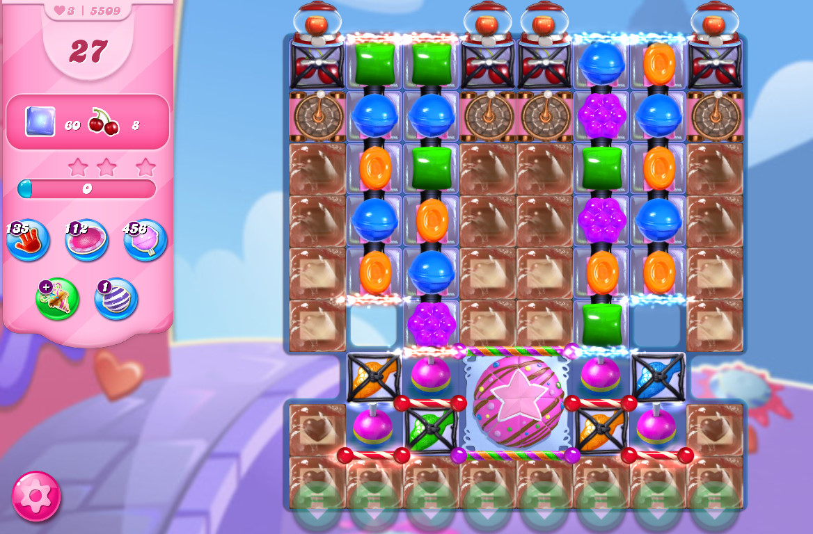 Candy Crush Saga level 5509