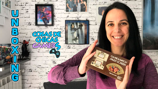 DONKEY KONG GAME AND WATCH UNBOXING