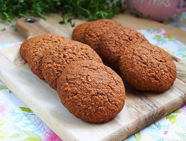 Ciastka gryczano - kokosowe
