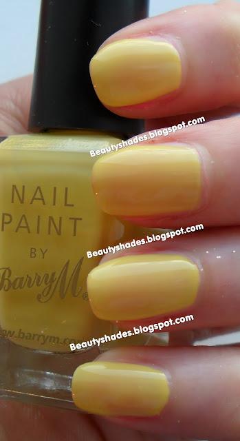 Barry M Lemon Ice Cream