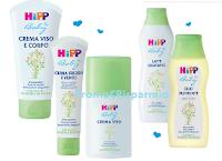 Logo Vinci gratis 31 kit di prodotti Hipp Baby