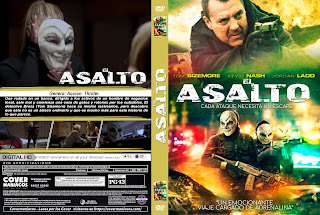 EL ASALTO – THE ASSAULT 2019 [COVER – DVD]