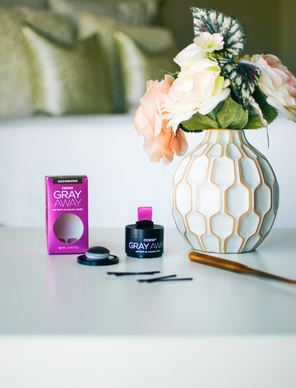 Gray Away root touch up powder