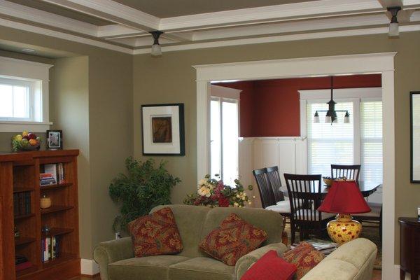 Interior Decoration of 2012 to 2013: craftsman interior paint